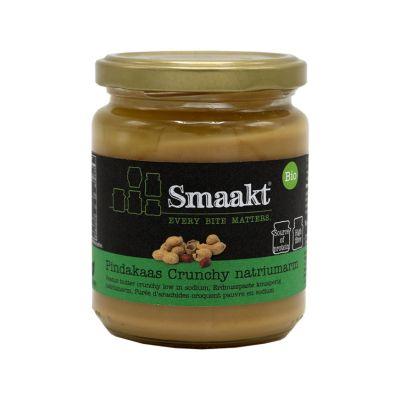 Pindakaas Crunchy Bio ZZ (250 gram)