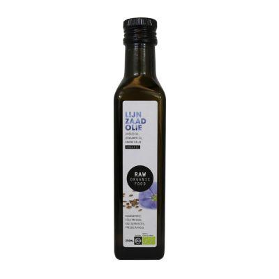 Lijnzaadolie Raw Bio (250 ml)