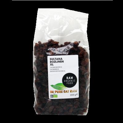 Rozijnen Sultana XL Raw Bio (1000 gr)