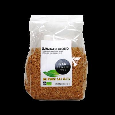 Lijnzaad Blond Raw Bio (500 gr)