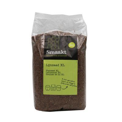 Lijnzaad Heel XL Bio (2000 gram)
