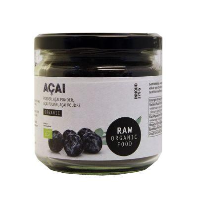 Acai Poeder Raw Bio (175 gram)