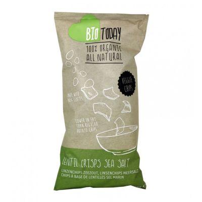 Lentil Crisps Sea Salt
