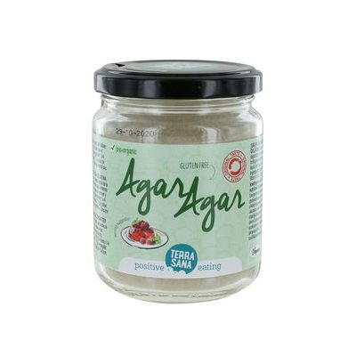 Agar Agar poeder (Biologische) 120 gram