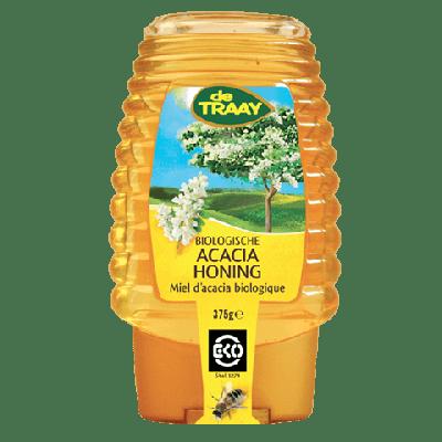 Acacia Honing Bio Knijpfles (250 gr)