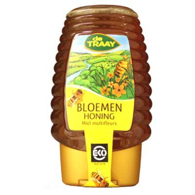 Bloemen Honing Bio Knijpfles (375 gr)