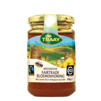 Bloemenhoning fairtrade bio (350 gr)