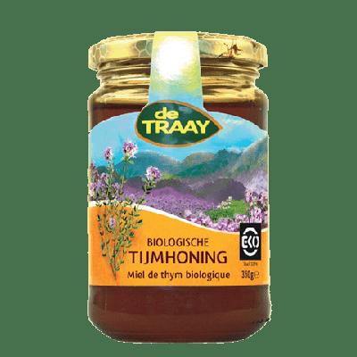 Tijm & Bloemen Honing Biologische (350 gram)