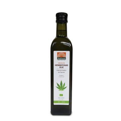 Hennepzaadolie Biologisch (500 ml)