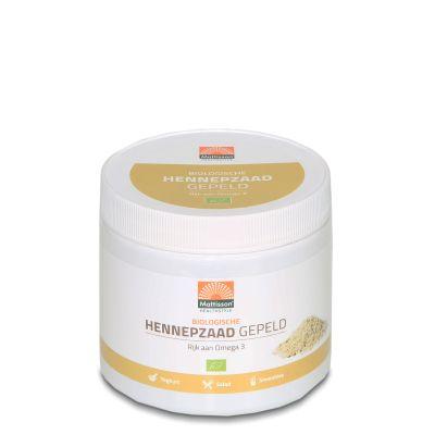 Hennepzaad Gepeld Bio (250 gram)