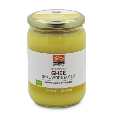 Ghee Biologische (500 gram)