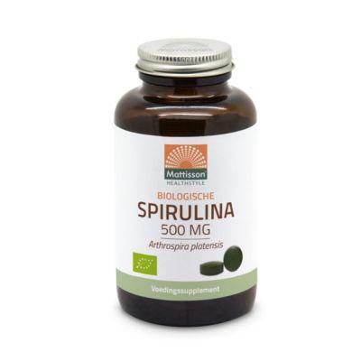 Spirulina Bio Tabletten (500 mg)