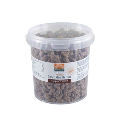 Choco Goji Bessen Raw (400 gram)