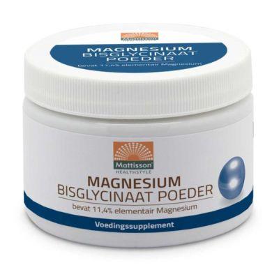 Magnesium Bisglycinaat Poeder (200 gram)