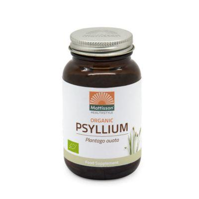 Psyllium Husk (Plantago ouata) 750mg v-caps Biologisch