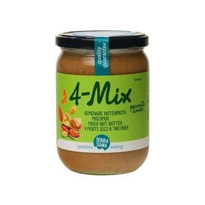 Gem. Notenpasta 4-Mix (500 gram)