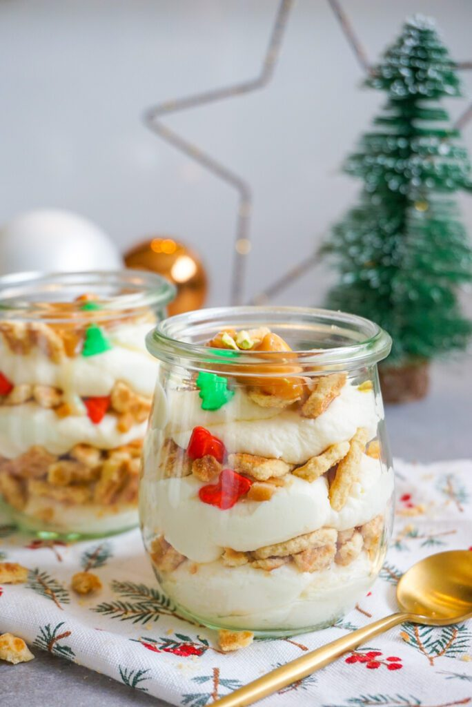 Glutenvrij speculaas kerstdessert