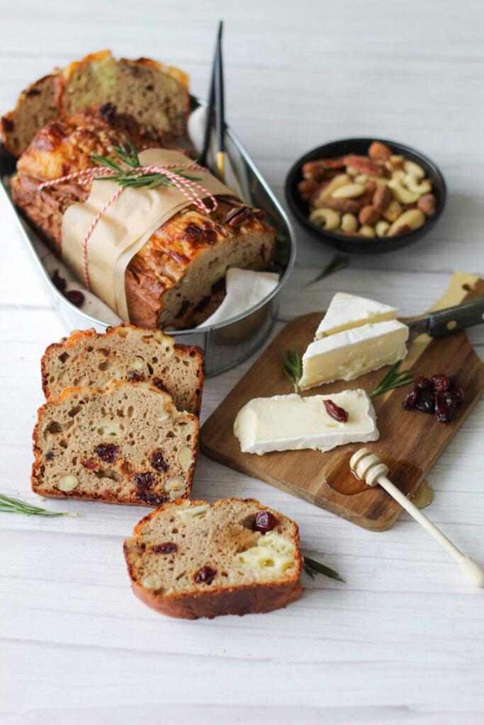Brie en cranberry brood